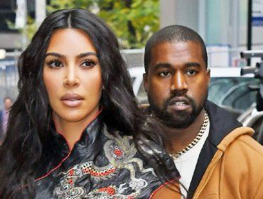 Kim Kardashian e Kanye West ainda dividem o mesmo teto porém não se falam mais, afirma jornal