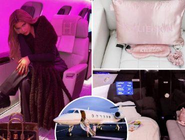 Kylie Jenner e seu Global Express XRS de US$ 72 milhões