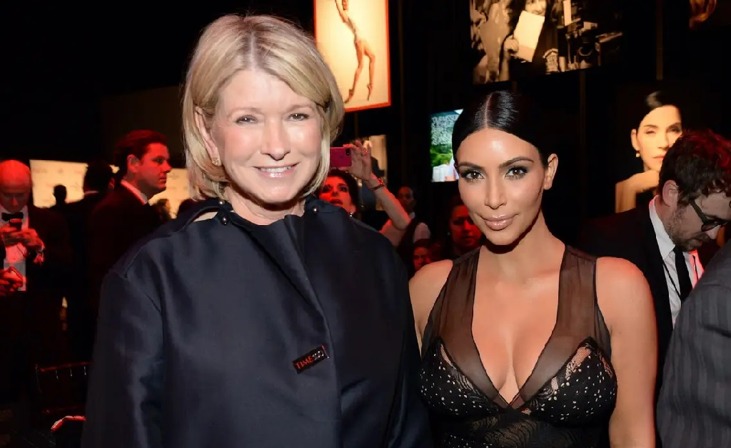 Martha Stewart e Kim Kardashian