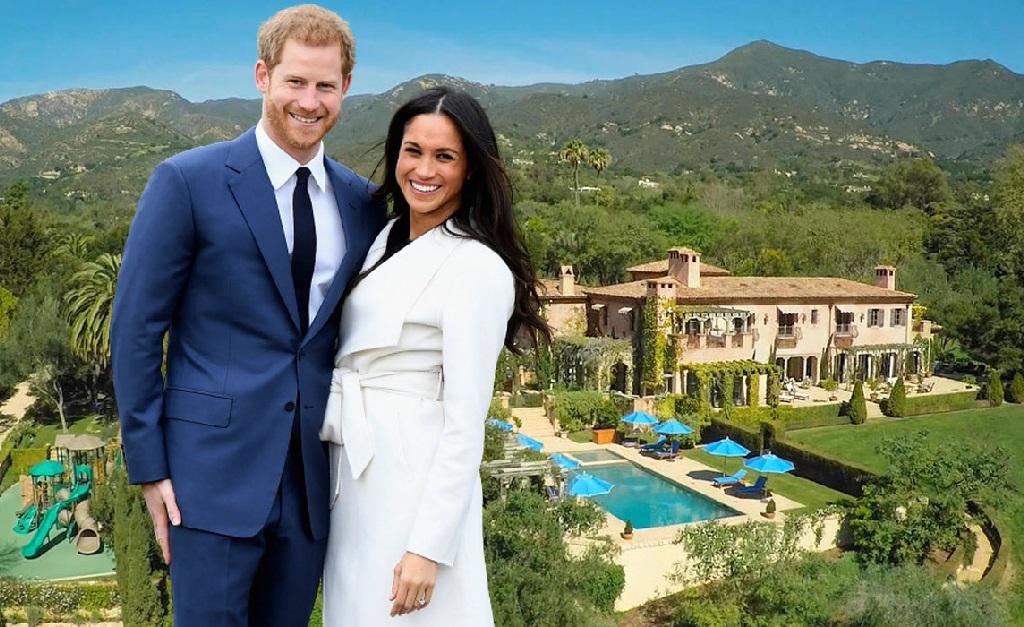 """Harry e Meghan e seu endereço mais """"simples"""" em Montecito"""