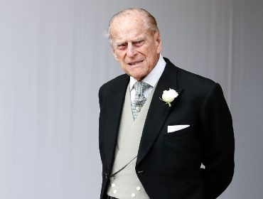 O príncipe Philip, duque de Edimburgo