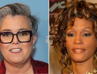 Rosie O'Donnell e Whitney Houston