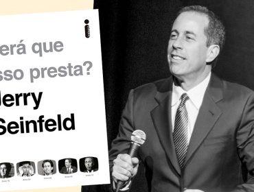 Jerry Seinfeld revisita os 45 anos de carreira com o livro 'Será que isso presta?' que chega ao Brasil e série na Netflix