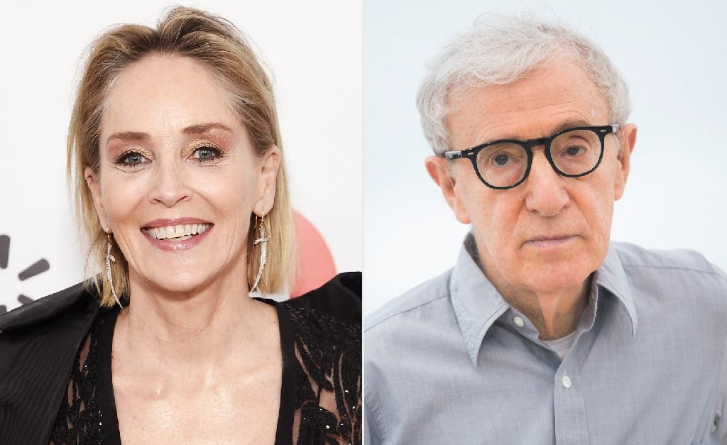 Sharon Stone e Woody Allen