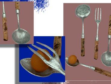 Desejo do Dia: Simplicidade e delicadeza servidas nos talheres artesanais de Valdomiro Favoreto