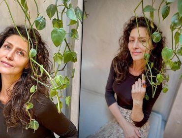 """Maria Fernanda Cândido muda o visual e relembra os tempos de modelo com fotos """"in natura"""""""