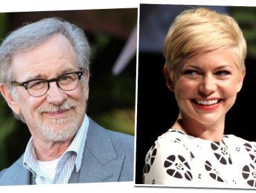 Steven Spielberg vai dirigir filme baseado na própria infância e Michelle Williams está confirmada no papel da mãe do diretor