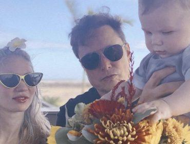 Elon Musk mostra foto do filho X Æ A-XII pela primeira vez