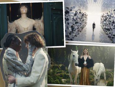 Alessandro Michele homenageia centenário da Gucci com coleção e filme inspirados na mitologia da marca. Play!
