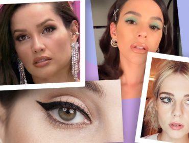 O delineado de Juliette do BBB viralizou! Para arrasar nesse clássico da maquiagem, conversamos com quem entende do assunto. Vem!