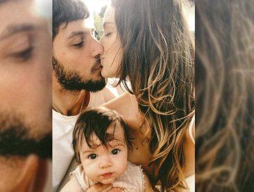 Laura Neiva e Chay Suede estão grávidos do segundo filho, e a família está que é pura alegria
