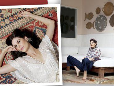 De volta ao Rio, depois de temporada em Nova York, a atriz Luiza Mariani se prepara para viver a cantora Marina Lima no cinema