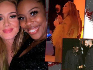 Adele reaparece e se joga em 'after party' do Oscar promovida por Daniel Kaluuya, ganhador do prêmio de Melhor Ator Coadjuvante