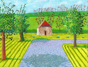 David Hockney foi morar na França para de se proteger da Covid-19, e resultado foi um mergulho no trabalho