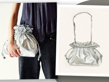Desejo do Dia: O rebelde metálico com o charme da bolsa tiracolo na criação de Isabel Marant