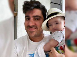 Marcelo Adnet se surpreendeu com seu novo papel, o de pai de Alice: 'Não posso dar mole em nenhum momento'