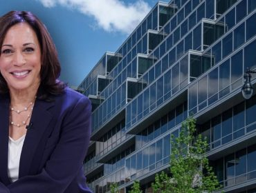 Kamala Harris e o luxuoso edifício Westlight de Washington