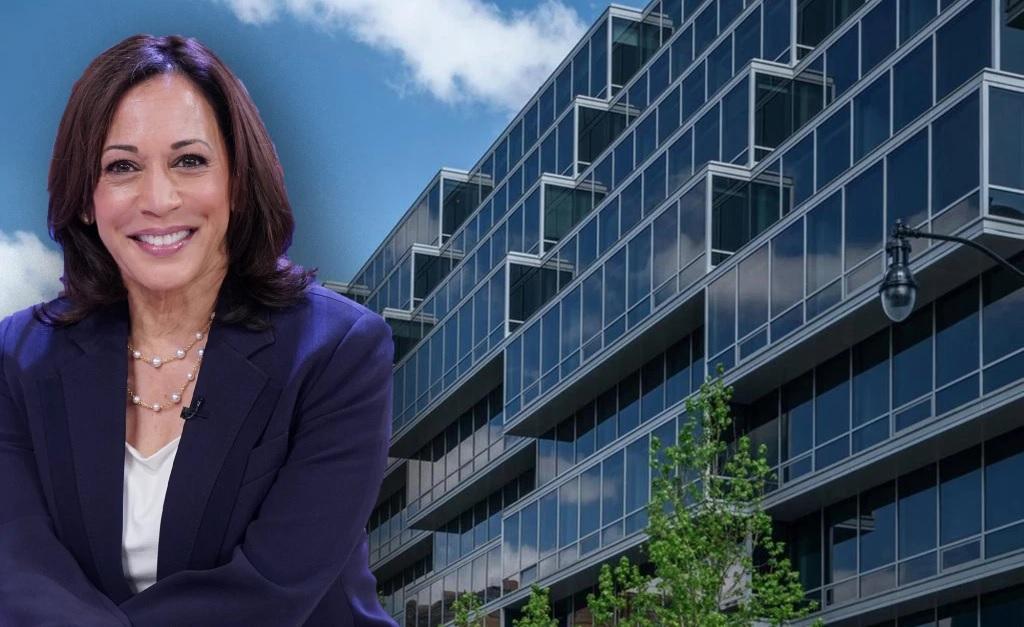 Kamala Harris e o luxuoso edifício Westlight de Washington