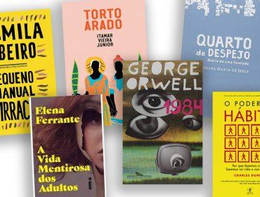 Dia Do Livro: Glamurama lista os seis best sellers do momento no Brasil para ler já