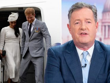 Meghan Markle e Harry, e Piers Morgan