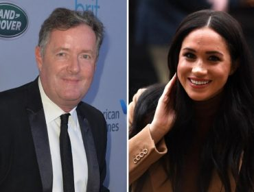 Piers Morgan e Meghan Markle