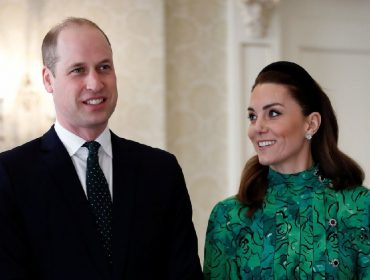 O príncipe William e Kate Middleton