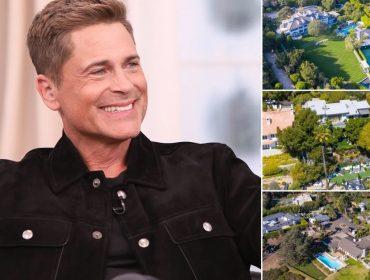Rob Lowe e suas três novas aquisições em Montecito