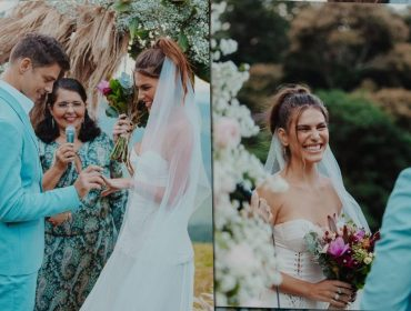 Cauã Reymond e Mariana Goldfarb celebram dois anos de casamento com declarações e fotos inéditas