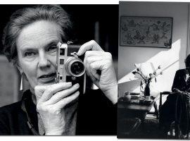 Martine Franck, fotógrafa belga que foi mulher de Henri Cartier-Bresson, é a inspiração para peças e objetos bem atuais