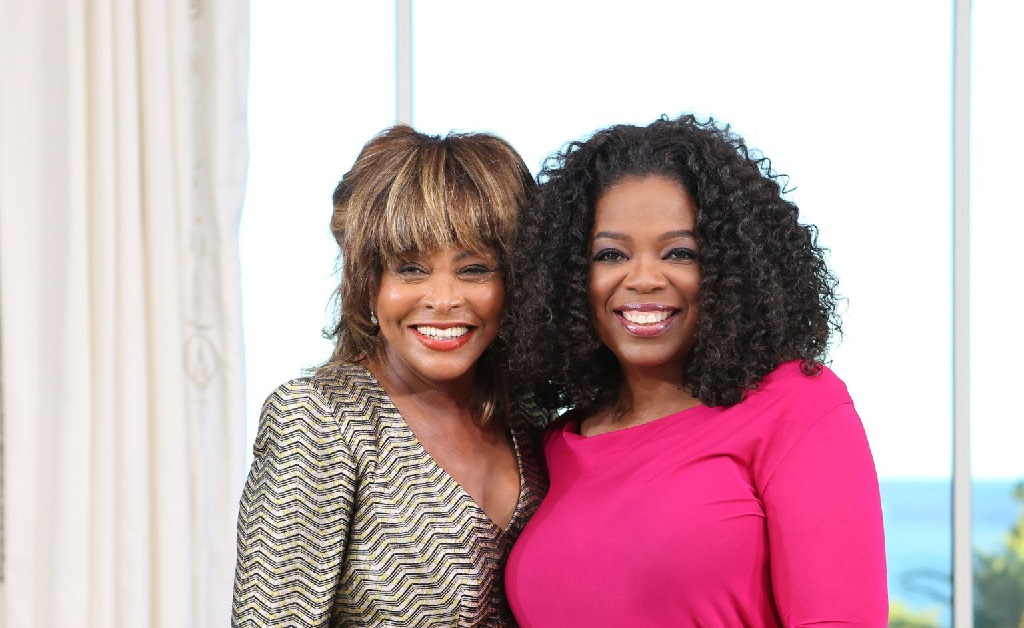 Tina Turner e Oprah Winfrey