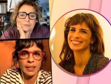 """Em live com Joyce Pascowitch, Maria Ribeiro fala sobre documentário 'Outubro', feminismo e o que tira ela do sério: """"Não dá para relativizar o Bolsonaro"""""""