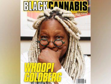 """A estrela de 65 anos na capa da """"Black Cannabis"""""""