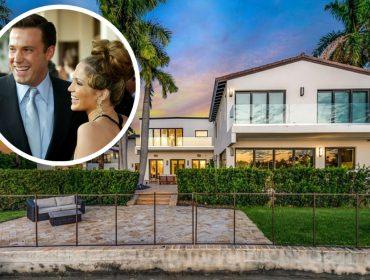 Jennifer Lopez paga 700 mil por mês para ter privacidade com o 'mozão' Ben Affleck em Miami. A gente explorou o château. Vem!