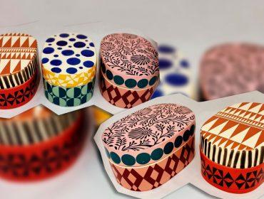 Desejo do dia: as lindas e coloridas caixinhas em cerâmica da designer Flavia Del Pra