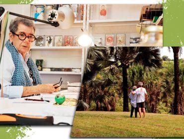 A artista plástica Jeanete Musatti e o colecionador Bruno Musatti estão entre aqueles que, na pandemia, decidiram trocar a cidade pelo campo.