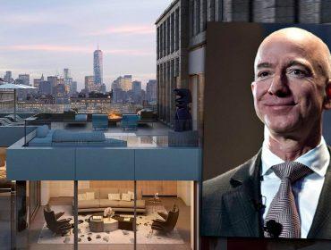 Jeff Bezos investe 422 milhões de reais em cobertura triplex em plena 5ª Avenida, em Nova York. Vem conhecer!