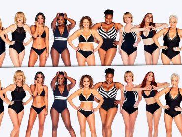 Apresentadoras de talk show britânico mostram antes e depois de retoques em campanha que exalta a beleza real. Veja a comparação!