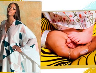 """Naomi Campbell anuncia chegada da primeira filha e é a nova mamãe-coruja do pedaço: """"Não existe amor maior"""""""