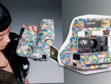Desejo do dia: a edição 'deluxe' da Polaroid em parceria com a Fendi, para os fãs de foto analógica