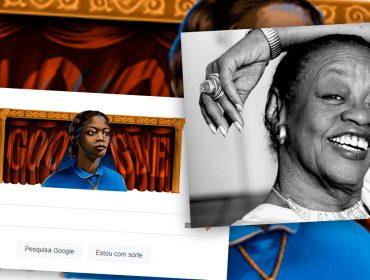 Ruth de Souza, a primeira-dama negra do teatro, cinema e televisão brasileira, é homenageada pelo Google
