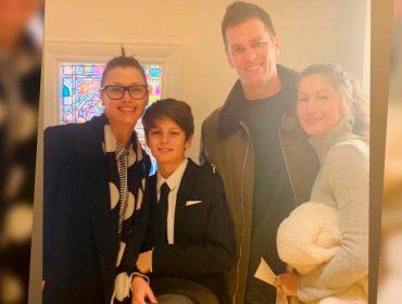 Tom Brady compartilha foto rara com Gisele Bündchen e sua ex-namorada Bridget Moynahan