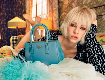 Hunter Schafer é a estrela do novo filme fashion da Prada sob o ollhar do cineasta canadense Xavier Dolan