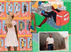 A arte de Maxwell Alexandre saiu da Rocinha e agora pode ser vista em exposição no Instituto Tomie Ohtake. Vem conhecer!