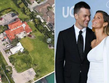 Gisele e Tom são flagrados visitando terreno de R$ 92 milhões que compraram em dezembro, em Miami