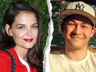 O agora ex-casal Katie Holmes e Emilio Vitolo Jr.