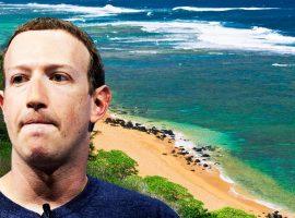 Zuckerberg volta a enfurecer havaianos com compra de área de 243 hectares por quase R$ 300 milhões