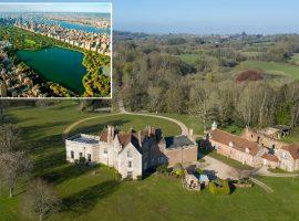 Propriedade inglesa histórica com terreno maior do que o do Central Park é colocada à venda. Quem se habilita?