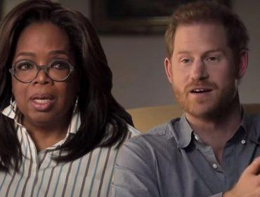 Oprah Winfrey e Harry