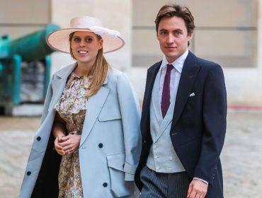A princesa Beatrice e o marido, Edoardo Mapelli Mozzi
