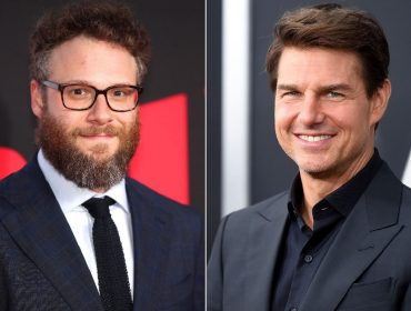 Seth Rogen e Tom Cruise